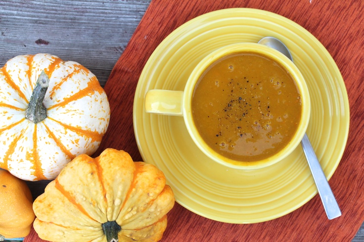 curried butternut squash and carrot soup | Healthy Meal Ideas | Pinte ...