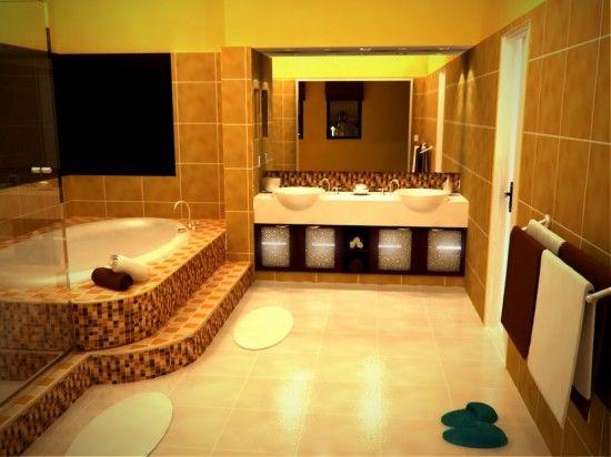 Baño Amarillo Decoracion:Bathroom Remodel Average Cost of 2014