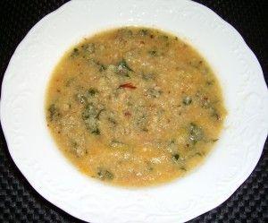 smoky cauliflower soup with kale   Food   Pinterest