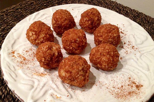 No Bake/Healthy Doughnut Holes | Companies coming, let's eat! | Pinte ...