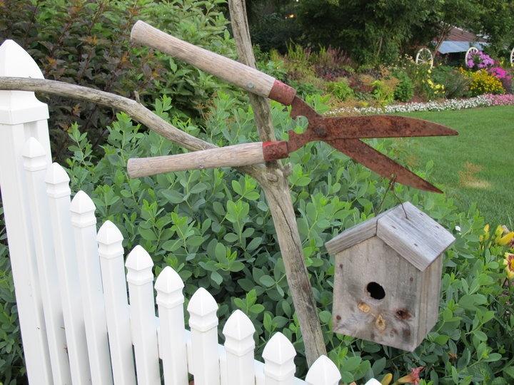 Garden Junk Fences Steps Pathways Pinterest