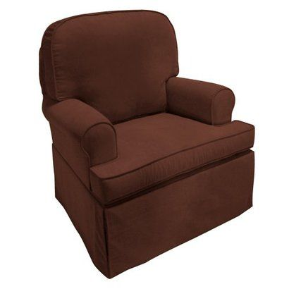 Willow Swivel Glider Chair Tan