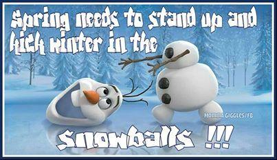 Spring Snow Funny Quotes. QuotesGram