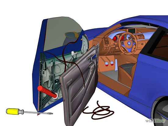 What is a temporary fix for a broken car window? m