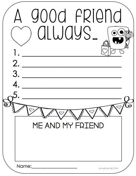 valentine literacy activities for kindergarten