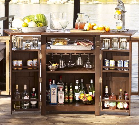 Patio Bar For The Home Pinterest