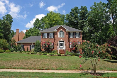Cute Two Story Brick Home Dream House Exteriors