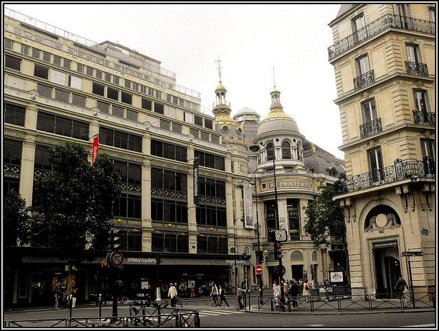 Grands magasins du printemps paris france pinterest - Magasins orientaux paris ...