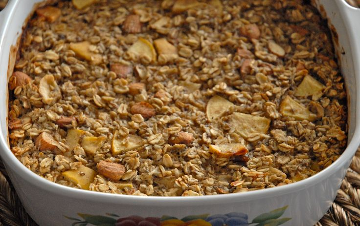Baked Oatmeal | Daniel Fast | Pinterest