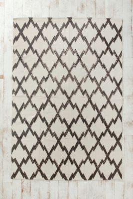 Diamond-Stamp Rug