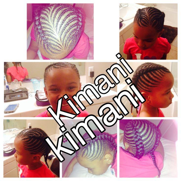 Kids cornrows Girl cornrows Girl braids Boy braids Unisex braids ...