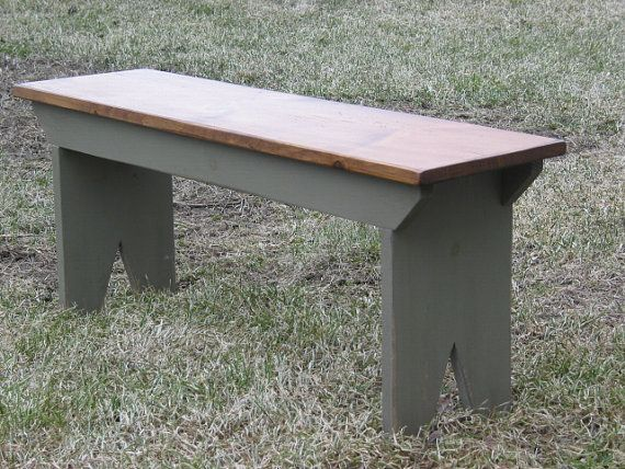 Traditional Five Board Bench Country Bench