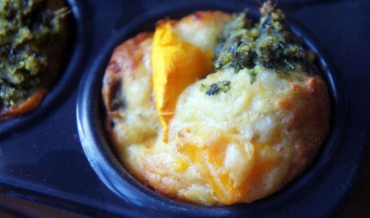 Pumpkin, feta and honey muffins | Breakfast in Bed | Pinterest