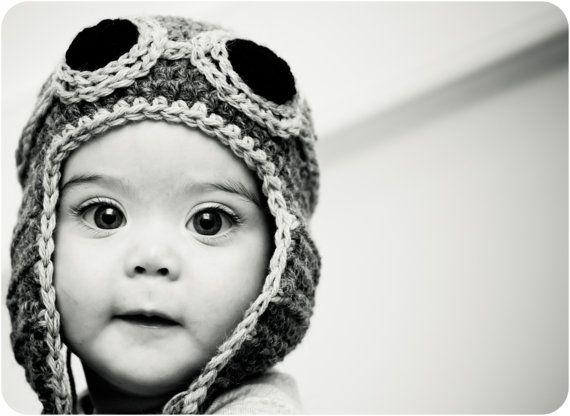 Pilot Hat for Baby Babies Pinterest