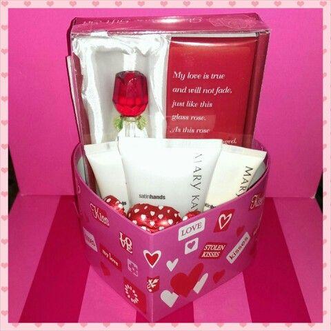 valentine glass rose
