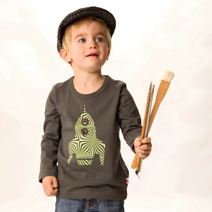 Rocket Long Sleeve Top | Organic childrens tops - boys and girls | Pi ...
