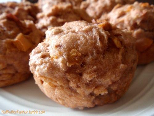 Whole Wheat Peaches 'N' Cream Muffins | Recipes | Pinterest
