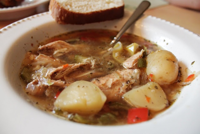 Chicken and Vegetable stew | crock pot and slow cooker | Pinterest