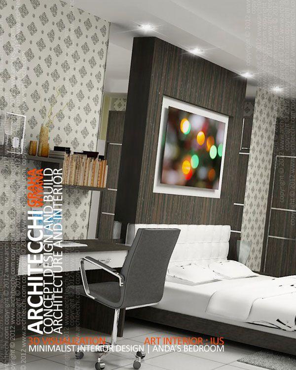 desain interior kamar tidur minimalis interior design