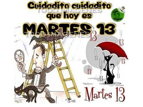 Martes 13 | Lunes-viernes | Pinterest