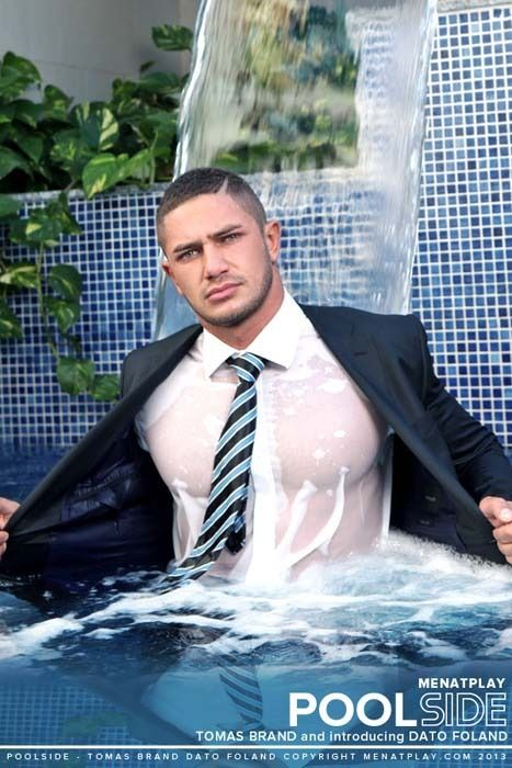 Photo: Dato Foland #scruff for Men At Play The Man Crush Blog / Facebook / Twitter