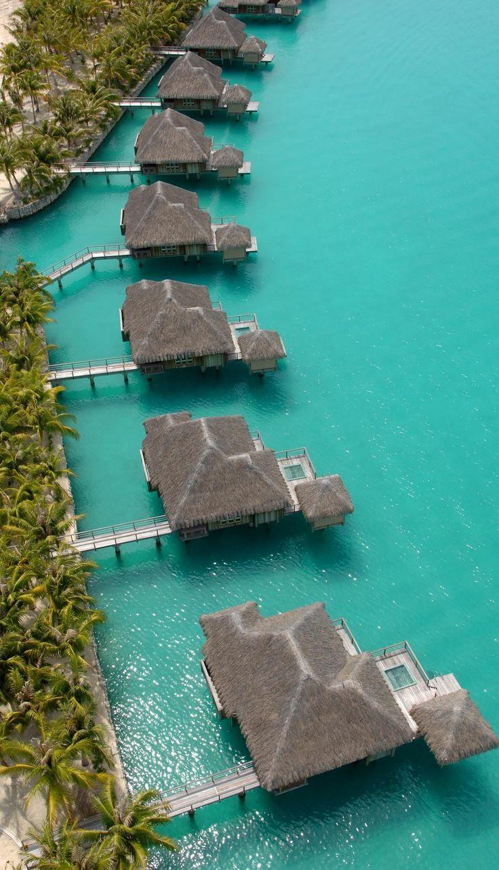 The St. Regis Bora Bora Resort #luxury #hotel #resort @Starwood Hotels & Resorts