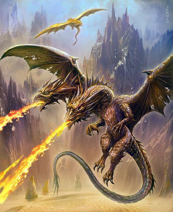 2 headed dragon - 4 4