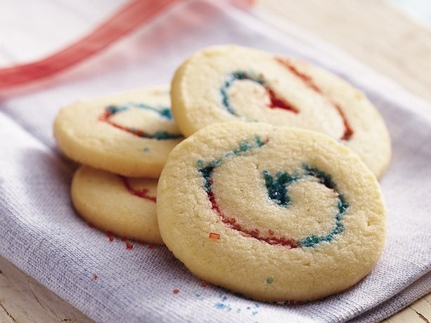 Red, White and Blue Cookies #4thofJuly