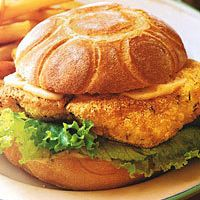 Fried-Catfish Sandwiches with Spicy Mayonnaise by Food & Wine