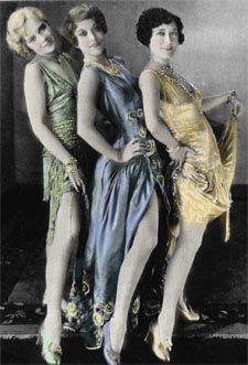flappers 1920's