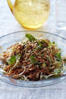 Grilled Ginger-Sesame Chicken Salad | I don't cook, but if I did ...