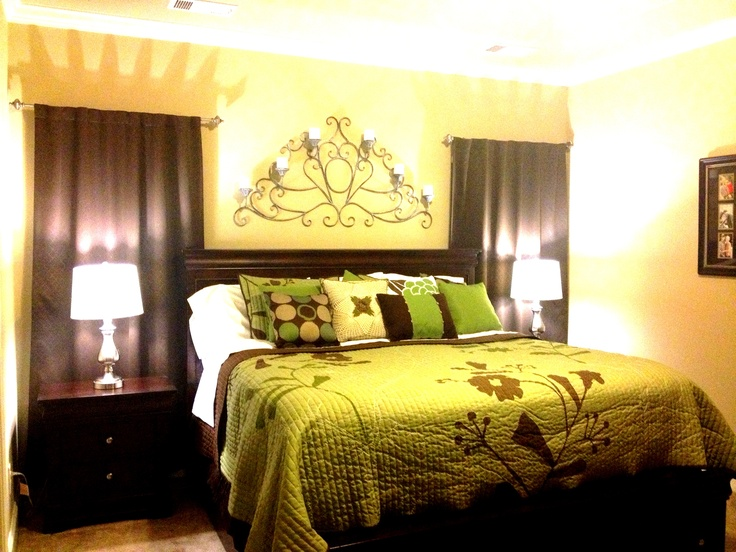 green and brown bedding bedroom ideas pinterest