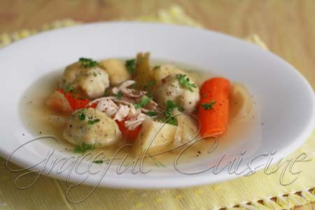 Chicken Matzo Ball Soup.. Have never made matzo balls before, must try ...