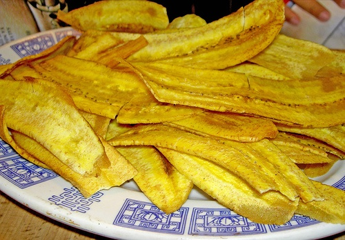 Platanos- Fried Green Plantains | Costa Rica | Pinterest