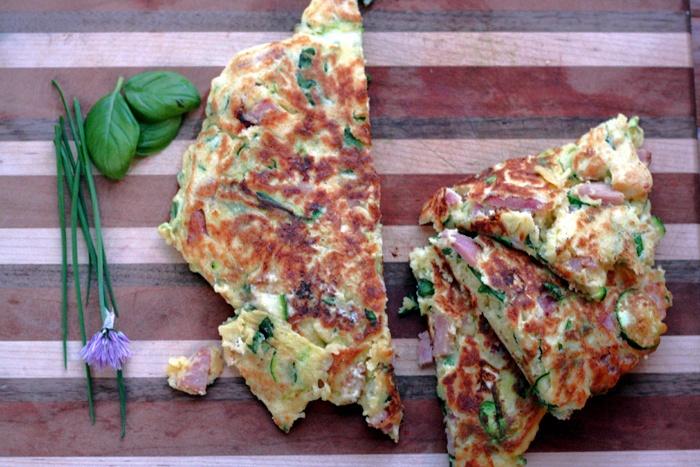 Zucchini, Ham And Ricotta Fritters Recipes — Dishmaps