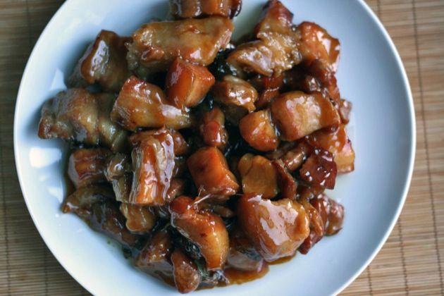 Sichuan Red-Braised Pork Belly | Feed Me Mr. Seymore... | Pinterest