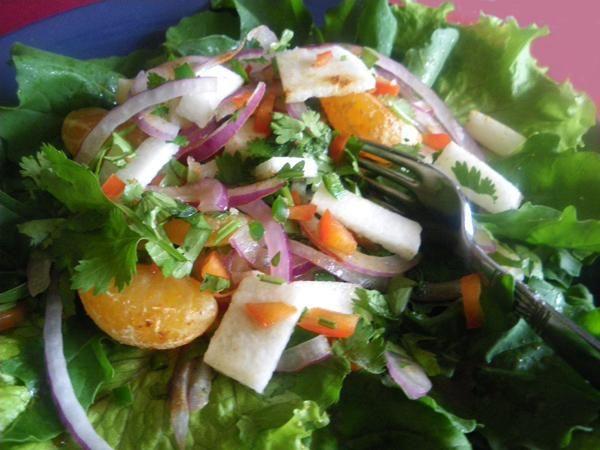Jicama Y Ensalada Anaranjada Picante (Spicy Oranges & Jicama from Food ...