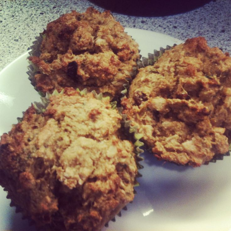Applesauce muffins with major modification Used pear/ginger pulp left ...