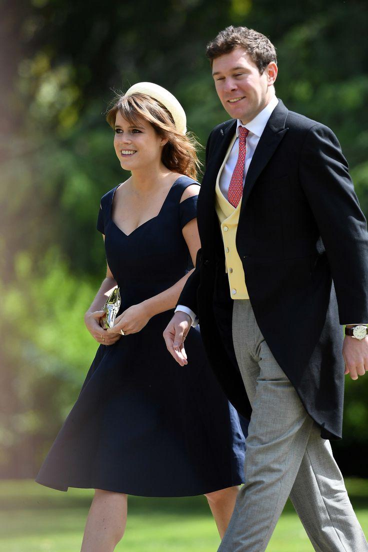 Meghan Markle Attends Pippa Middletons Wedding Reception