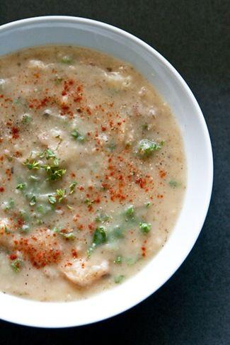 Recipe: Creamy Herbed Potato + Kale Soup (gluten free, vegan) ] Made ...