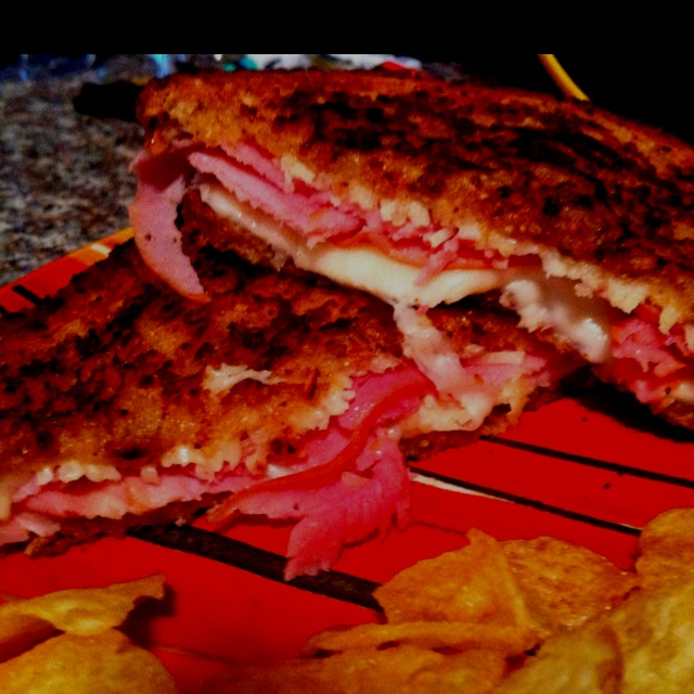 Grilled Parmesan Mozzarella Ham Sandwich | Any | Pinterest