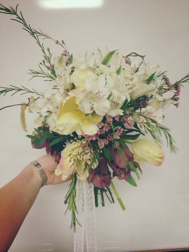 Bridal Bouquet Wedding Flowers Pinterest