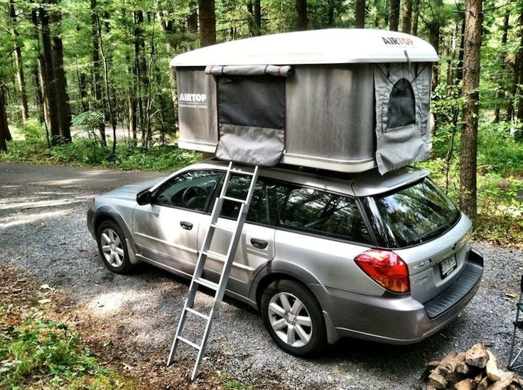 Subaru Accessories Forester Tents : Subaru forester tent camping autos post