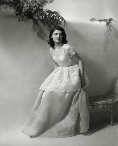 16 Feb 1948 --- Portrait of Jacqueline Lee Bouvier (later Jackie Kennedy Onassis), age eighteen  Related to the Beales' of Grey Gardens