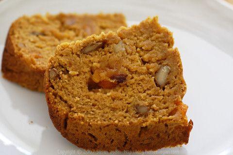Persimmon Bread | recipe from FatFree Vegan Kitchen
