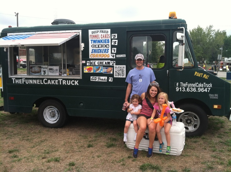 Food truck at the carnival food truck stall cart pinterest