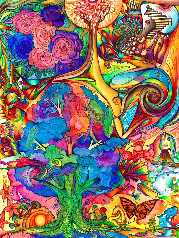 TREE OF LIFE | PsYcHeDeLiC | Pinterest