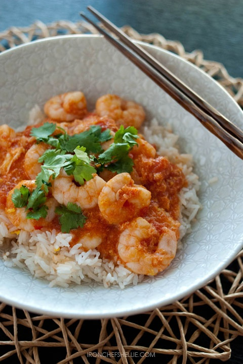 Singapore Chilli Prawns -- a dish you can whip up at a moment's ...