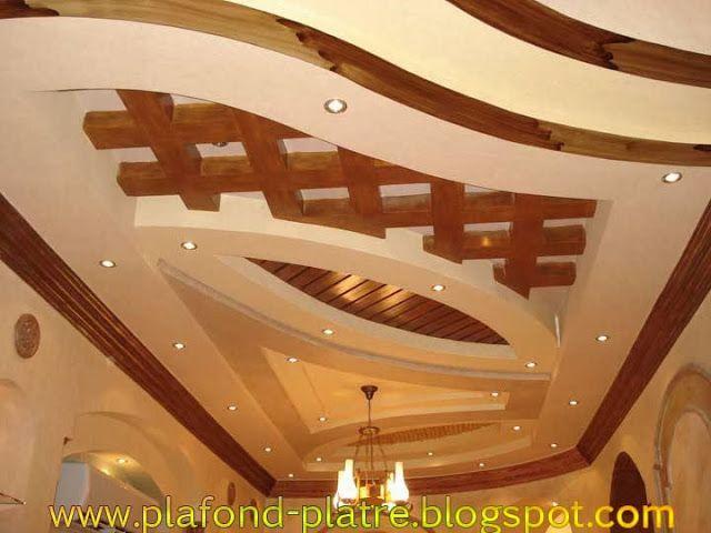 Faux plafond d coration excellent faux plafond pinterest for Decoration faux plafond