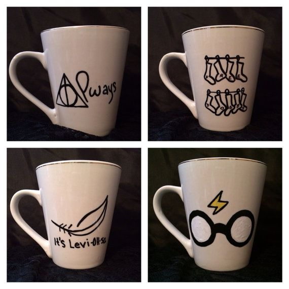 Potter DIY Coffee Mug MuggleNet